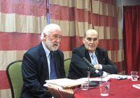 Presentación del Embajadorde España en Canadá, Eudaldo Mirapeix